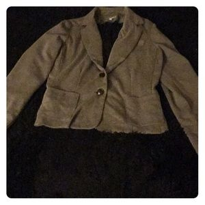 Charlotte Russe grey xl business blazer